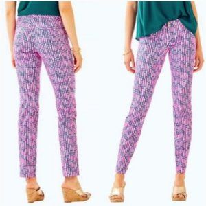 Lilly Pulitzer Kelly Skinny Ankle Pant Size 0
